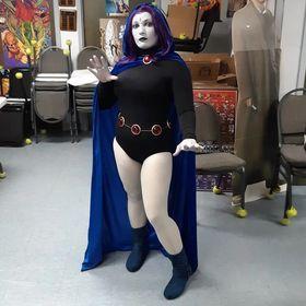Marz Stardust cosplaying as Raven FCBD 2021