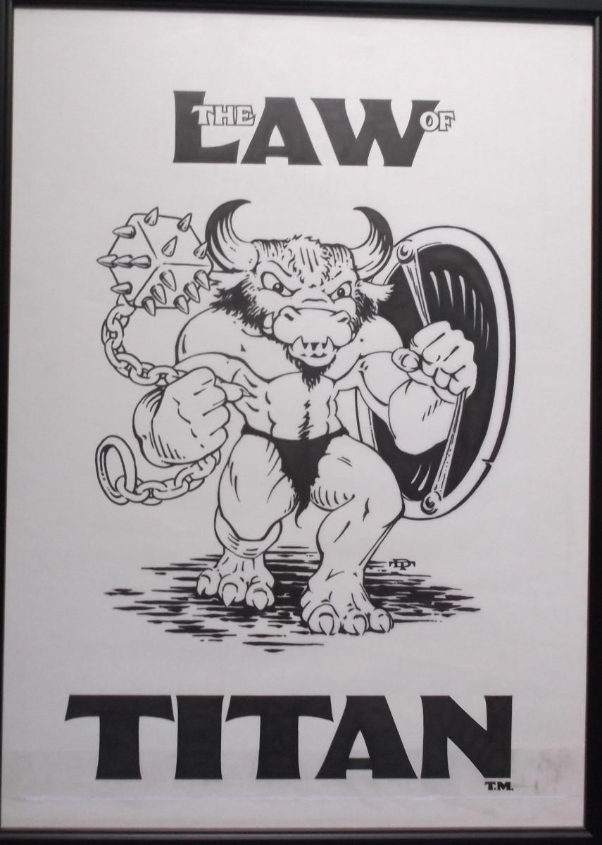 Titan Rulebook art